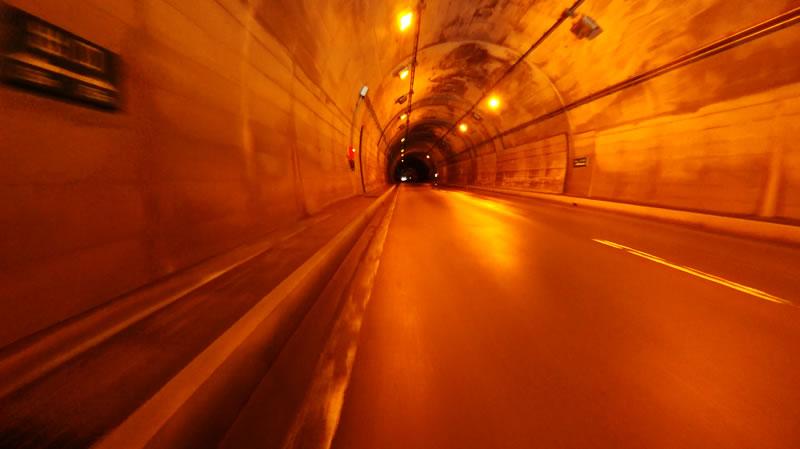 トンネル内でも大丈夫