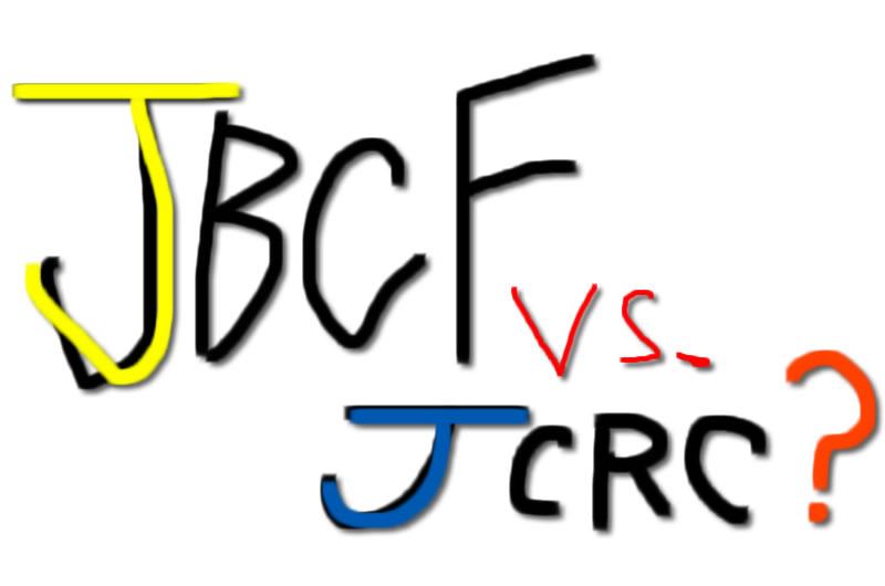 JBCFとJCRCの違いが分からぬい(;´Д`)