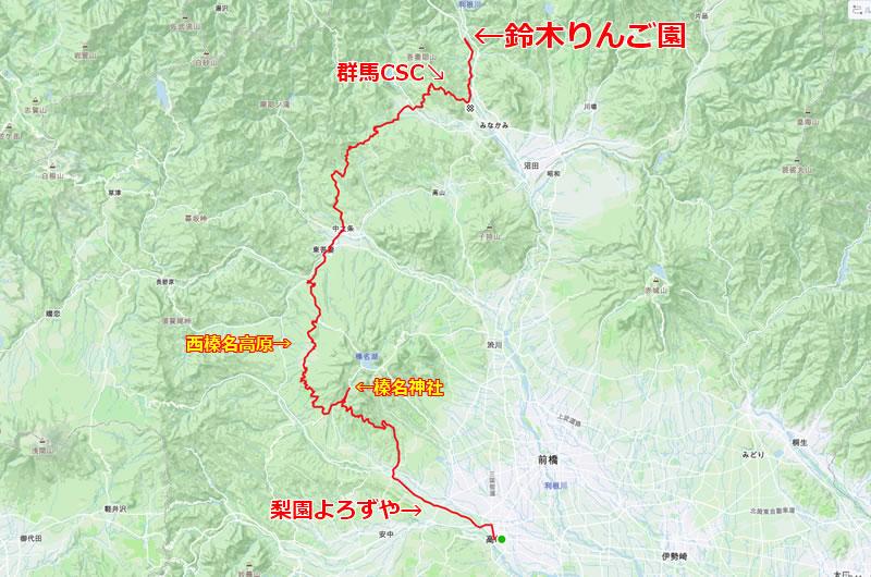 台風10号の足跡を追いかけるりんご買い物ツアー
