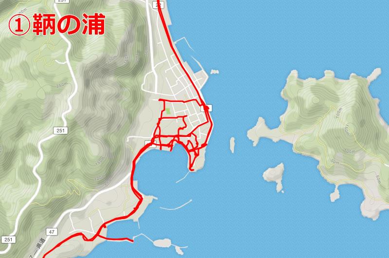 最初の目的地・鞆の浦