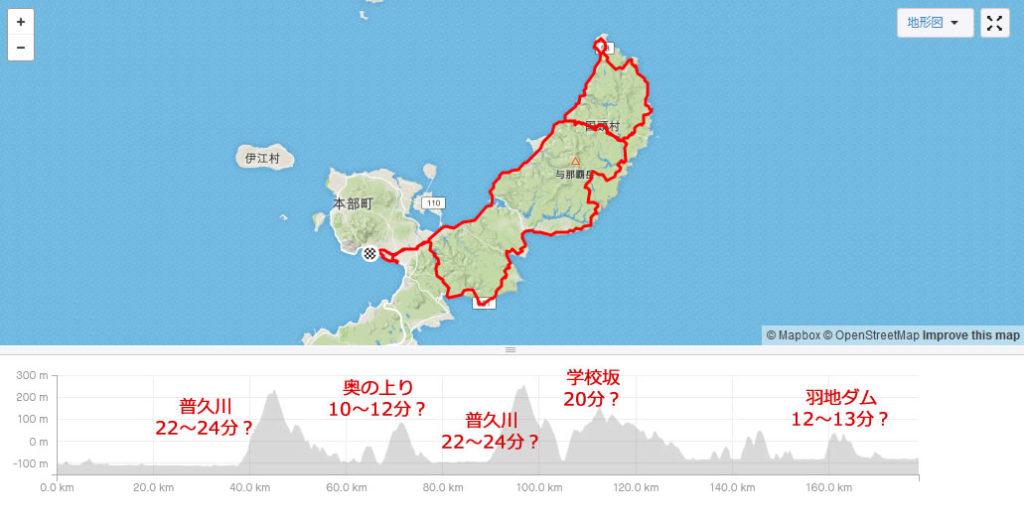 沖縄の上りは長く険しいのがいっぱい