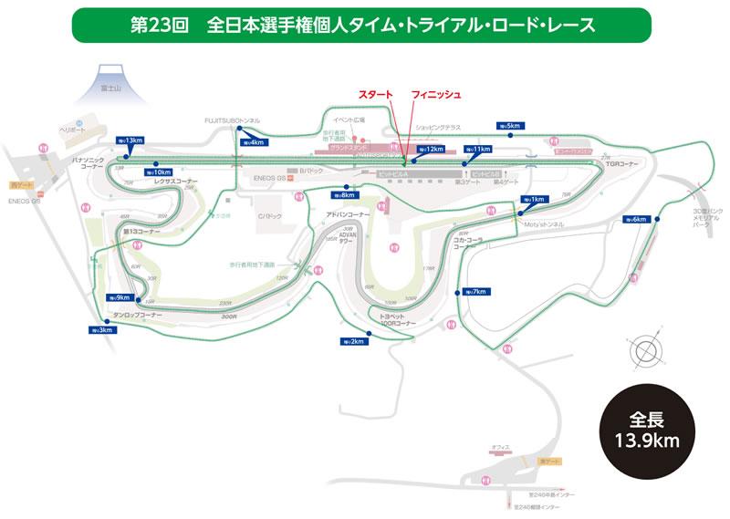 TTは全長13.9kmに