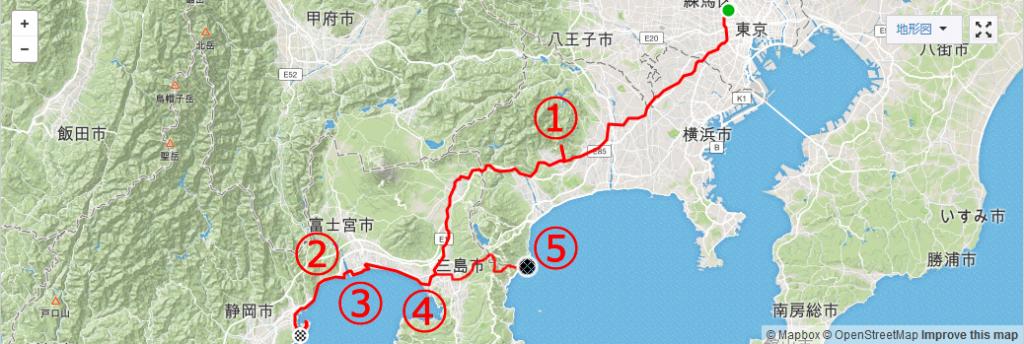 猫とグルメ満載の東京・静岡往復サイクリング