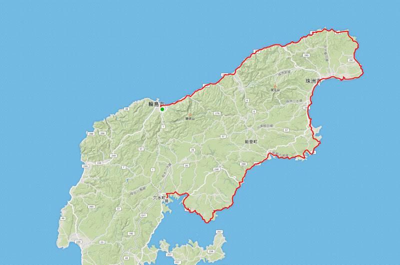 能登イチ2日目は輪島から穴水までの140km