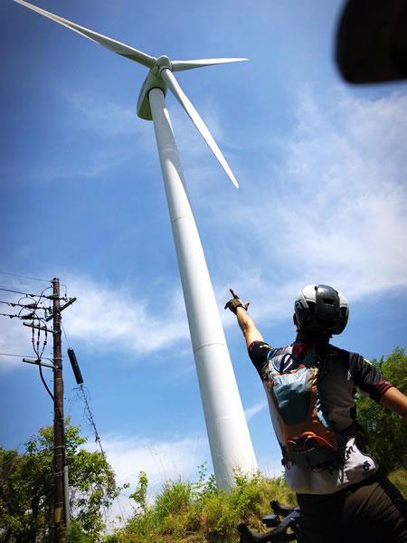風車も間近で見られます(*´ω`*)
