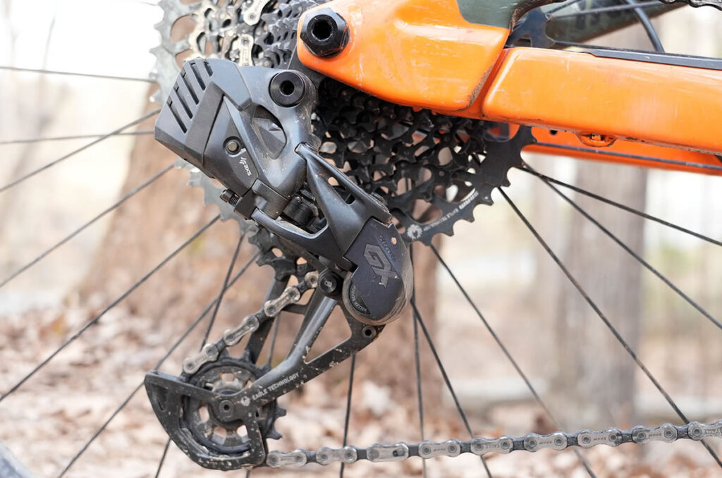SRAM GX EAGLE AXS電動コンポだそうです(Bike Rumorより)