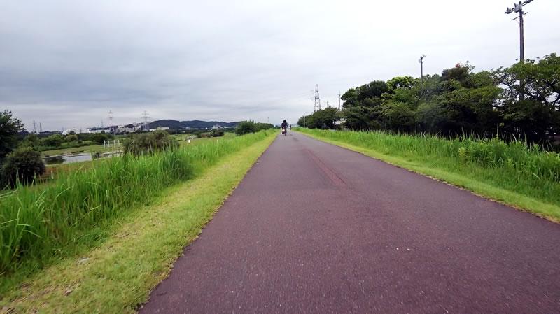 多摩川サイクリングロードをサクッと通過