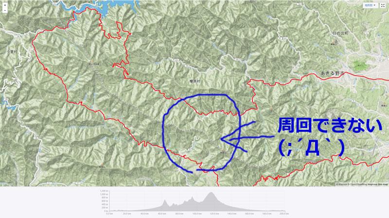 いつか甲武トンネルを越えて鶴峠周回を完成させたい