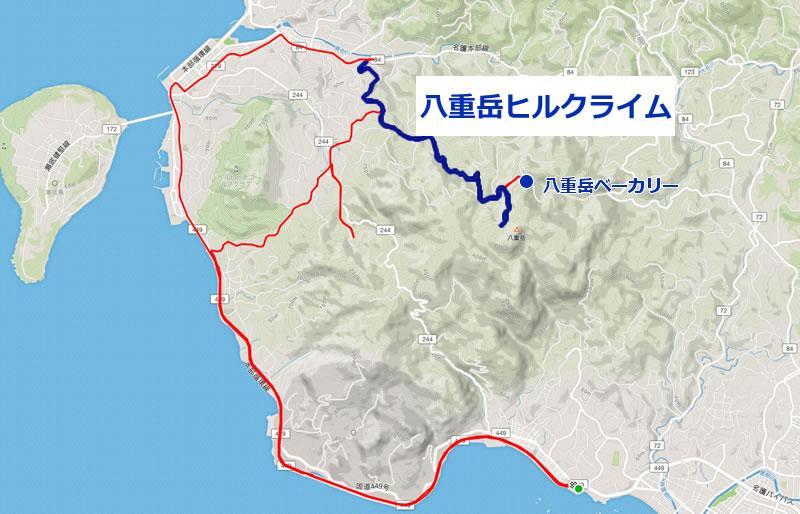 八重岳を上って桜を観に行こう!